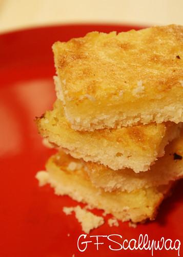 Gluten Free Scallywag Gluten Lactose Free Lemon Bicuit Slice