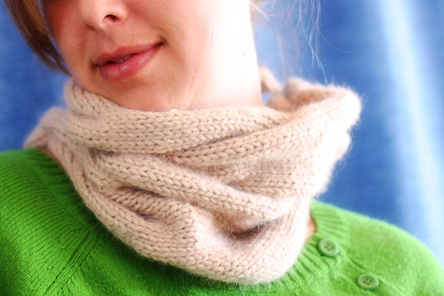 burberry-inspired cowl