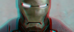 Iron Man (Anaglyph 3D) (patrick.swinnea) Tags: movie dvd stereoscopic stereophoto 3d anaglyph ironman 3dconversion