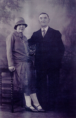 Mr A and Mrs Neillis, 1924.