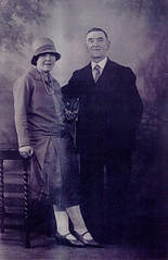 Image titled Mr A and Mrs Neillis, 1924.
