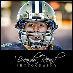 "Football Portrait ""Sportrait"" Rice Stadium Houston Tx (Brenda Read Photography) Tags: portrait lake sports face sport football eyes nikon university texas rice head tx saints houston headshot jackson read pro brenda athlete vr owls helment facemask 70200mm lucis d300 sportrait clute"