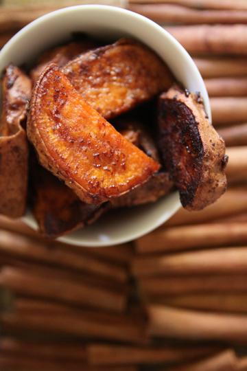 chpotle roased sweet potatoes