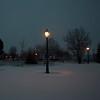 Streetlight (Julio López Saguar) Tags: madrid light españa snow cold spain farola dusk nieve frio anochecer alcorcón juliolópezsaguar