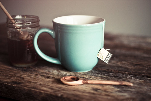 Come, let us have some tea and continue to talk about happy things