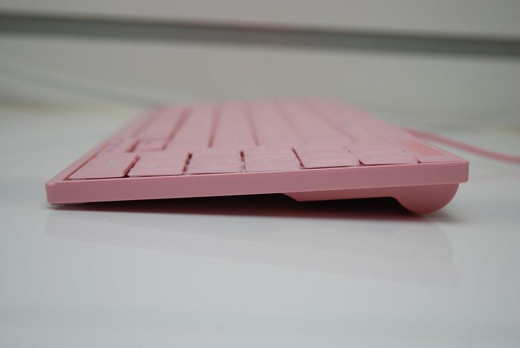 i-rocks KR-6523 粉紅筆電鍵盤 - 16