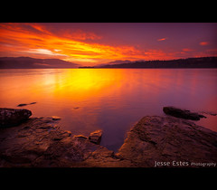 Columbia River, WA (Jesse Estes) Tags: sunrise saturated columbiariver 5d2 jesseestesphotography