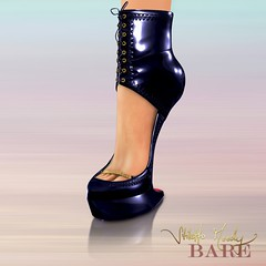 Stiletto Moody Bare Judy (Black) (Stiletto Moody) Tags: beautiful leather fetish high rivets heart boots bare snaps secondlife zipper judy stiletto straps booties strappy bootie bowties patent laceup moodys noheels heelless stilettomoody impossiblyhighheels impossiblyhipheels badseedredsole sculptedfootinshoe impossiblybeautifulfeet barecfoot barefootinshoe stilettomoodywinter2010 sculptedbooties footfootinshoe