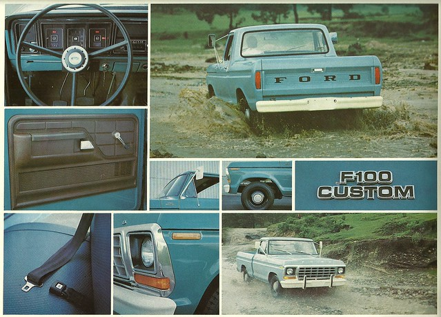 ford truck ads advertising pickup f100 ute catalog brochure bakkie camione