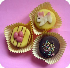 Easter Treats (pinkyjane) Tags: bunny easter chocolate marzipan treat petitfours