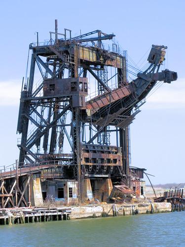 Abandoned McMyler Coal Unloader