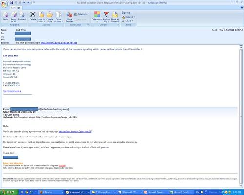 tuna spam