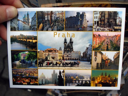 Post card from Prague
