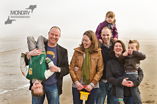 Familie fun portret