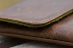 iPad Leather/Felt Sleeve