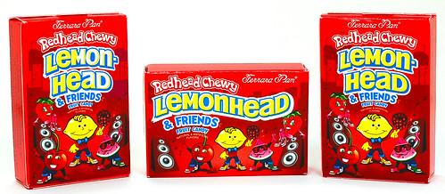 Redhead Chewy Lemonhead & Friends