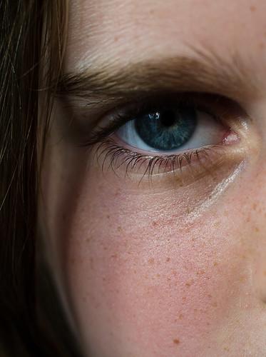 Serious Blue Eyes