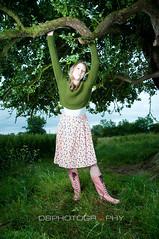 _DAZ1132 (Dazzler83 AKA Pappa Snappa) Tags: lighting light flower tree sexy feet girl beautiful grass out outside back weeds nikon dress legs side flash hannah sb600 hana sholder han strobe cls amey woma wellys strobist sb900 105mmf2dc d300s 1685mmvr 35mm18dx rf602
