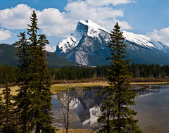 Mount Rundle...017 (HansWobbe) Tags: tree banff mountrundle tps frhwo gpse magicalskies inspiredbyyourbeauty 201105trip