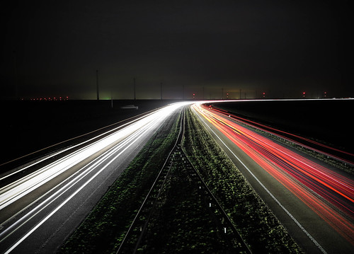 Snelweg A6 Lelystad (21-02-2017).