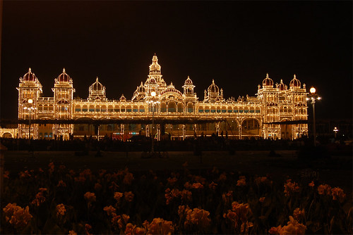 Palace and the Garden - Mysore palace