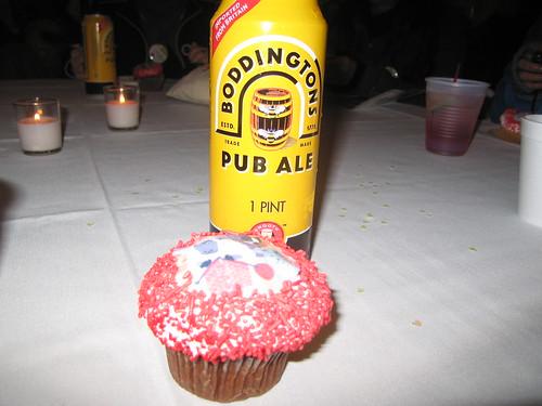 Bob Cupcake and Beer
