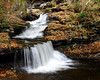 Falls End (Bill McBride Photography) Tags: park autumn color fall nature water leaves canon landscape eos rebel waterfall october scenery state pennsylvania foliage pa 1855 2009 xsi rickettsglen efs1855 450d canon450d canonxsi