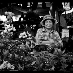 ma'am with her plants (1davidstella) Tags: street market malaysia kotakinabalu bazaar sabah tamu putatan dragondaggerphoto travelsofhomerodyssey 1davidstella 4tografie