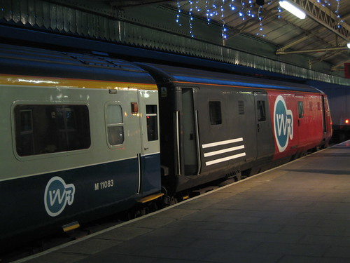 Branded train as film location (UK)