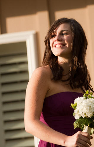 A beautiful bridesmaid by ctraganos.