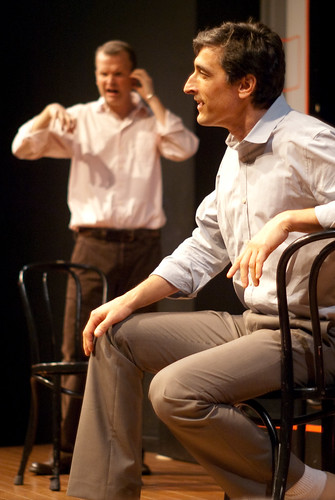 TJ & Dave at Second City Toronto. Photo by Sharilyn Johnson