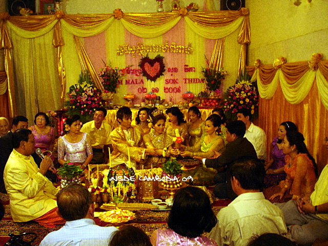 a khmer traditional wedding