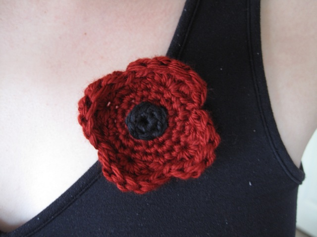 Ravelry Veterans Day Poppy Pattern By Sandsteel Designs