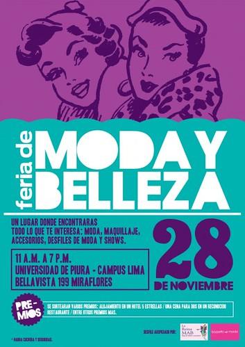 Feria de Moda y Belleza - U. de Piura Campus Lima