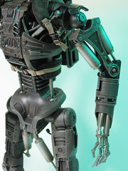 TERMINATOR SALVATION T-600: Hot Toys (rocketraygun) Tags: terminator miku t600 hottoys onesixth terminatorsalvation mikutoys