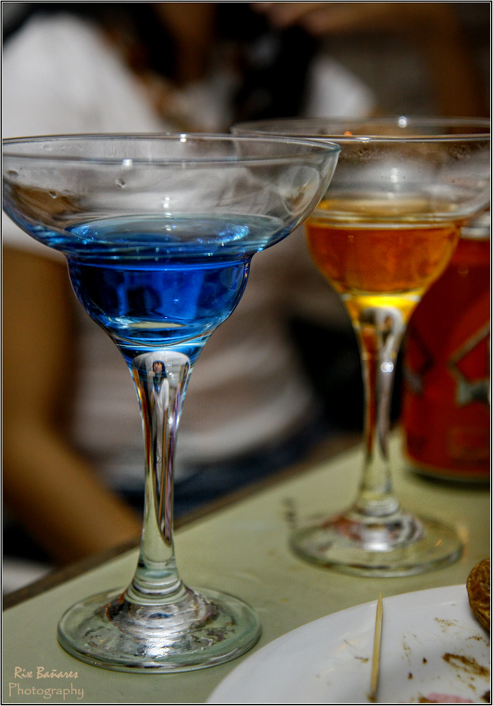 Blue & Orange Vodka