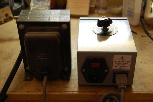 Variac and Isolation Transformer
