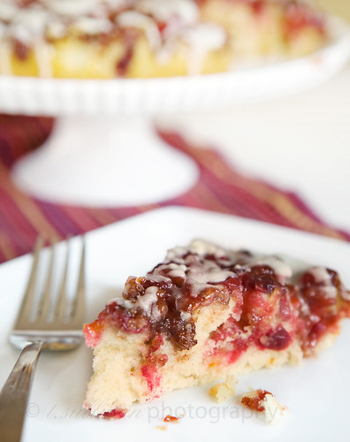 Cranberry Upside-Down Coffee Cake | The Craving Chronicles