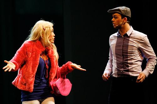 High School Musical - Sharpay er skolens mest populære jente, og bosser rundt på boren sin for å oppnå det hun vil.