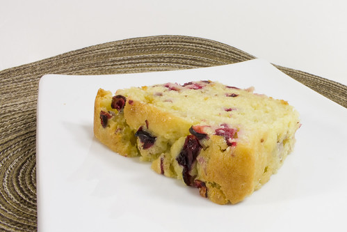 Slice Side Cranberry Orange Bread