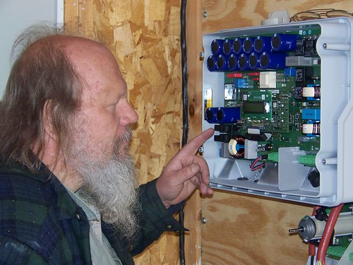 Inverter box internal workings