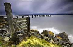 Winter afternoon at Aberdour. (Devilineden) Tags: photoshop canon eos scotland pier edinburgh fife forth dslr firth aberdour 50d