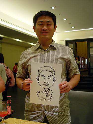 Caricature live sketching for Siam Express - 7