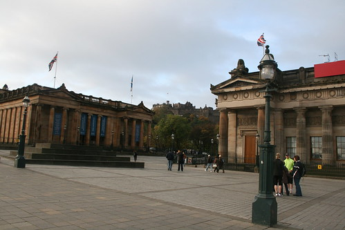 National Galleries, and Edinburgh Castle