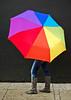 street spirit. (red.dahlia) Tags: me losangeles nikond50 explore radiohead lightroom streetspirit icouldnthelpmyself rainbowumbrella myfavoriteboots ellaellaeheheh musicallychallenged iamsmittenwiththisblackwall fu64g4r2w