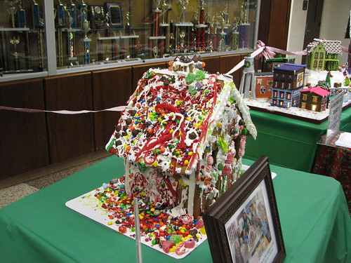 Gingerbread House Decorated with Glee