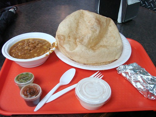 Chana Bhatura from Minar
