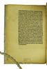 End of preface of Albertus Magnus [pseudo-]: Secreta mulierum et virorum cum commento