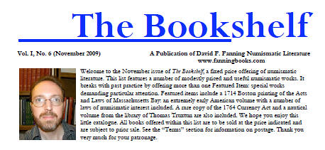 Fanning The Bookshelf 2009 November