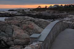 rough point (1600 Squirrels) Tags: sunset usa photo lenstagged newengland rhodeisland newport 1600squirrels cliffwalk 3x2 canon24105f4 5dii fall2009trip
